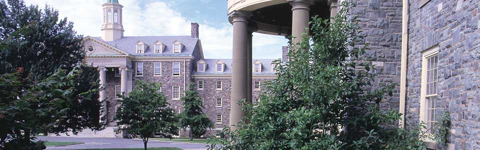 University of King's College campus: stone buildings with trees.