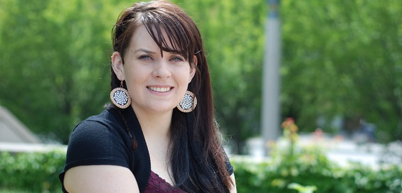 Erin Marie Konsmo, Indigenous student, York University.