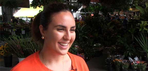 Jennifer O'Bomsawin, étudiante autochtone, Université de Sherbrooke.